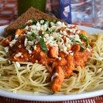 Pasta (Spaghetti) with chicken
