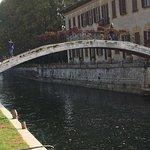 Ponte Pedonale sul Naviglio Grande