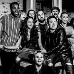 2016 Production of RENT. Photograph by Isdell Photography.
