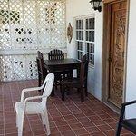 Prince William suite porch area.