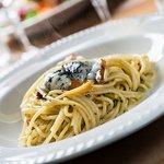 our signature dish: spaghetti carbonara
