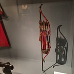 Norimono (Japanese palanquin) Bow & Arrows (less that 2' tall)