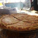 Chaap Shuru - yak meat pizza