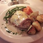 Excellent food at Churchill's restaurant