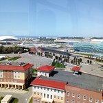Вид сверху. Олимпийский парк