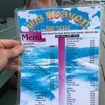 Hog Heaven menu