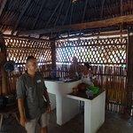 Mayan village, making tortillas