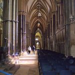 Stunning Nave At Lincoln Cathedral