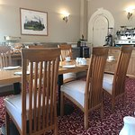 Dining room for breakfast