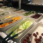 Fruit and salad bar