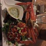 Fresh crab dinner!!