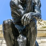 The Thinker (out front)