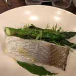 White Fish, Asparagus