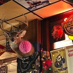 Great Wisconsin bar décor!