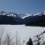 Frozen Lake in April