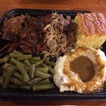 Duo Platter - Burnt Ends & Pulled Pork