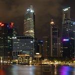 Downtown Core view, Marina Bay Sands Skypark, Singapore