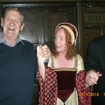 Lady Jane with her two willing pressed ganged accomplices