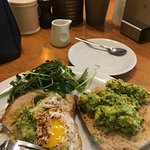 Amazing breakfast had this morning in mangetout . If you are looking for a healthy breakfast thi