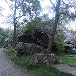 Approaching the Bowder Stone