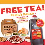 Free Tea with Family Packs (please mention free tea with your order)