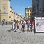 One example of seeing the very place where some of the events of WWII in Prague took place
