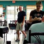 Coffee at Rae Rae's with Wayne Waters and Me Robert W Busby. Wayne met at Rae Rae's this Sunday