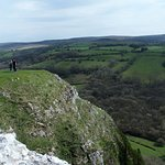 view.. cliff drop