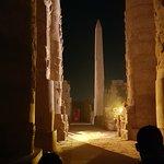 صورة فوتوغرافية لـ عرض الصوت والضوء الأقصر