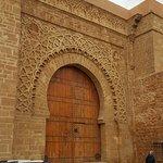 Oudaya castle (Kasbah-in their language)