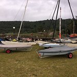 all packed up after a days sailing