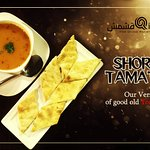 Our version of good old tomato soup *SHORBA TAMATAM*
