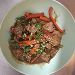 Stir fried Beef with Oysterd Sauce