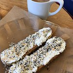 The everything bagel is absolutely delicious! I wish I lived locally because this would become m