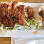 Delightful fried chicken