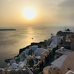 Foto Sunset in Oia