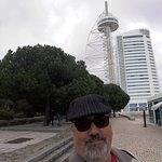 Vista para a Torre Vasco da Gama