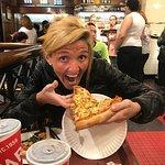 Pizza de champignones!