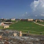 Vista hacia San Juan y Cementerio