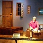 Part of Mr. Rogers exhibit