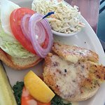 Hog Fish sandwich - great!