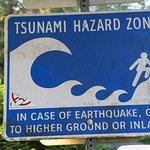 It is a Tsunami zone.