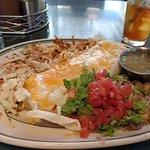 Delicious breakfast burrito!