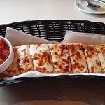 cheese bread, Pasta Fresca, Columbia, SC, April 2018