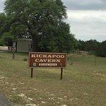 Kickapoo Cavern State Park-billede