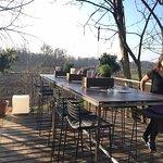 unsere neue terrasse