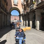 Foto de Accessible Madrid_Mobility Scooters Tours & Rentals
