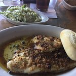 Herb Crusted Whitefish (excellent)