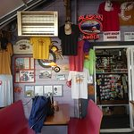 Tony's interior into bait shop
