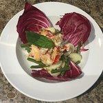 Lobster salad (starter)